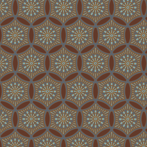 Sashiko Hatori fabric by keweenawchris on Spoonflower - custom fabric