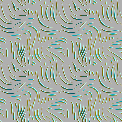 Ebb and Flow waves fabric by joanmclemore on Spoonflower - custom fabric
