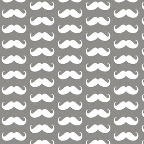 mustache  bigger grey
