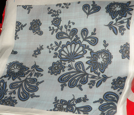 Blue Onion Embroidery