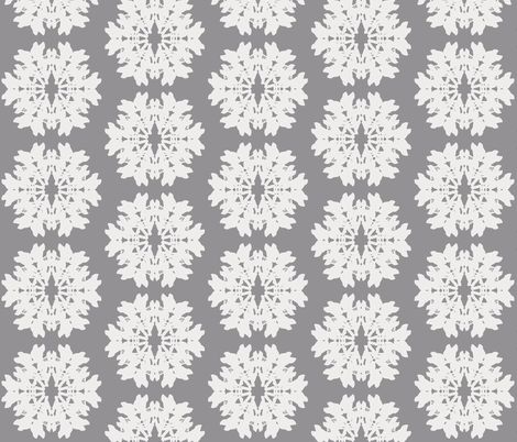 bambi_snowflake fabric by katarina on Spoonflower - custom fabric