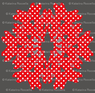 bambi_snowflake_dots red