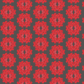 bambi_snowflake_dots red