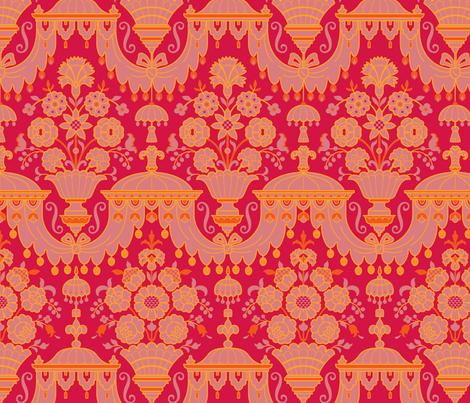Rococo 2a fabric by muhlenkott on Spoonflower - custom fabric