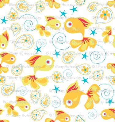 One Fish Two Fish - White
