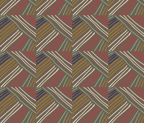 tribal lines fabric by marilynpatrizio on Spoonflower - custom fabric