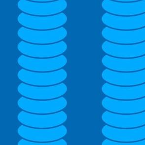 Robot Leg Stripe V2.1 - Large Curtain