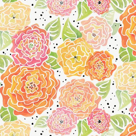 Sunny fabric by kari_d on Spoonflower - custom fabric