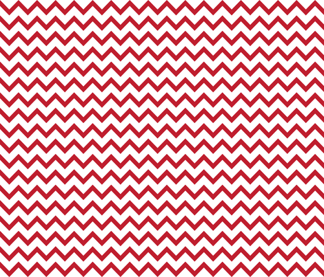 christmas chevron red fabric by misstiina on Spoonflower - custom fabric