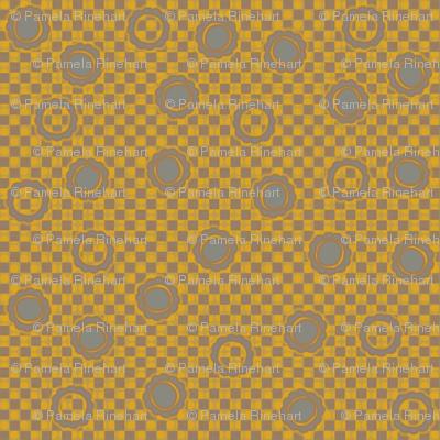 daisy dots gold