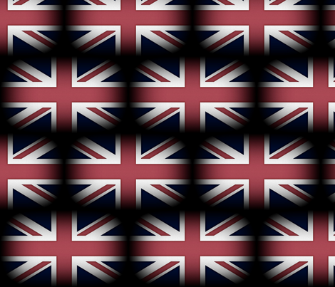 United Kingdom Flag fabric by peacoquettedesigns on Spoonflower - custom fabric