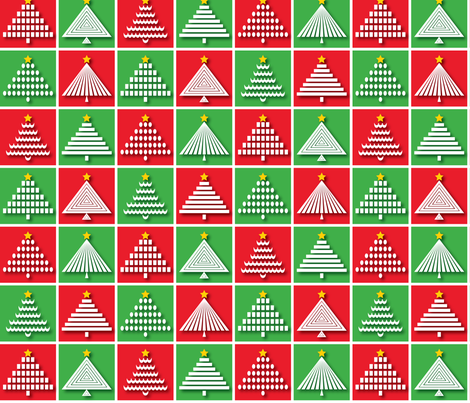 O Tannenbaum fabric by jjtrends on Spoonflower - custom fabric