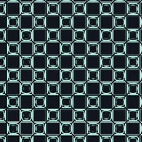 Tiles in Black and Blue
