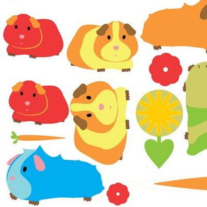 Guinea Pig Patch sized for Decals