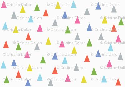 Multi-coloured Triangles