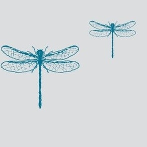 Petrol Blue Dragonfly