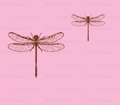 Romantic dragonfly