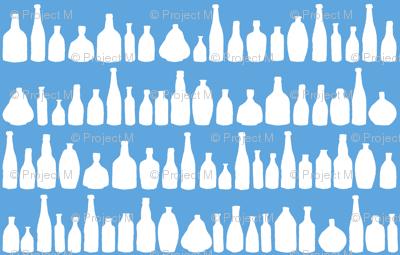 Bottles Blue