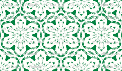 Snowflake_Lace_-Green