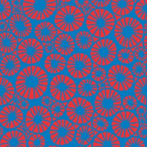 Millefiori: Red and Blue