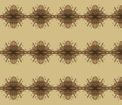 Recoders in fall fabric by me_and_mrs_jane on Spoonflower - custom fabric