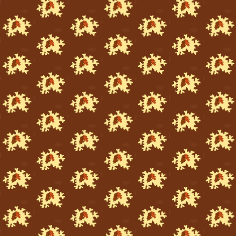 Brown Abstract-lighter fabric by the_cornish_crone on Spoonflower - custom fabric