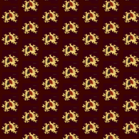 Brown Abstract-darker fabric by the_cornish_crone on Spoonflower - custom fabric