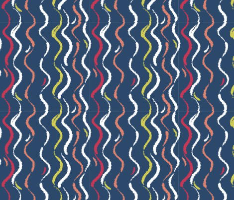 Matisse_Ribbons fabric by karencraig on Spoonflower - custom fabric