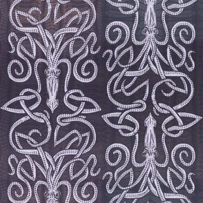 Kraken Squid in Deep Purple