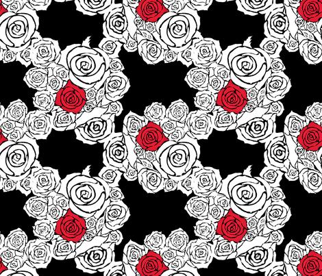 One True Love fabric by aftermyart on Spoonflower - custom fabric