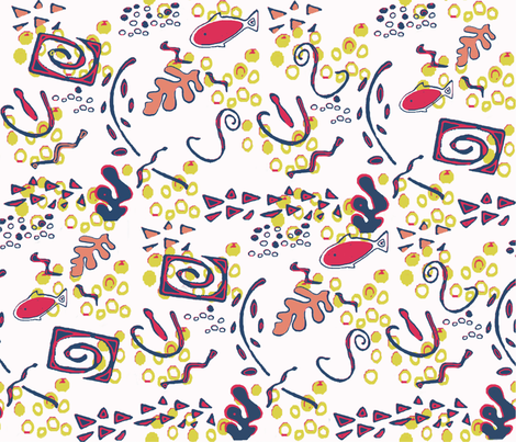 WimzyMatisse fabric by catail_designs on Spoonflower - custom fabric