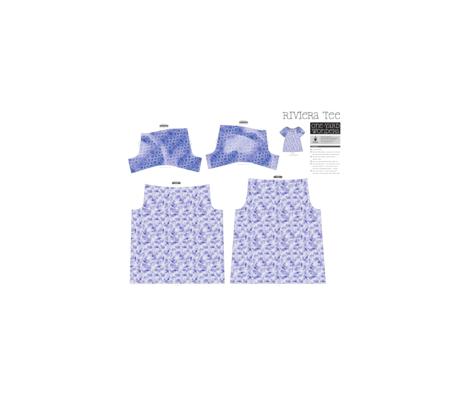 Under the sea fabric by vlike on Spoonflower - custom fabric