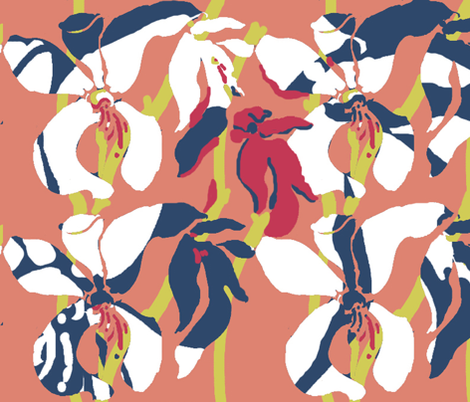 Luci_Mistratov_Matisse_background fabric by luciamist on Spoonflower - custom fabric