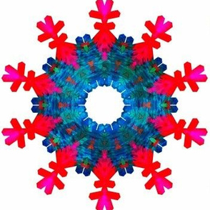 Snowflakenstein, the six pointed snowflake's cousin