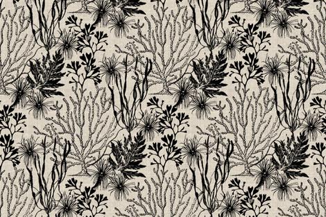 Poseidon Onyx fabric by littlerhodydesign on Spoonflower - custom fabric
