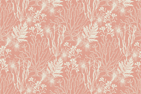 Poseidon Coral fabric by littlerhodydesign on Spoonflower - custom fabric