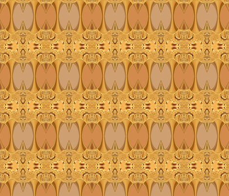 Golden Bee fabric by anniedeb on Spoonflower - custom fabric