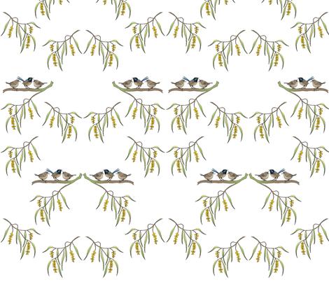 baby_wrens_mirror fabric by tat1 on Spoonflower - custom fabric