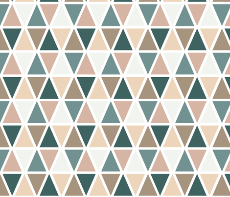 Rosetone & Dragonfly | P6 fabric by megan_peters on Spoonflower - custom fabric