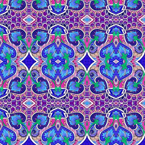 Very Confused Violets fabric by edsel2084 on Spoonflower - custom fabric