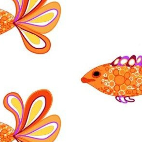 Fancy Fish (decal)