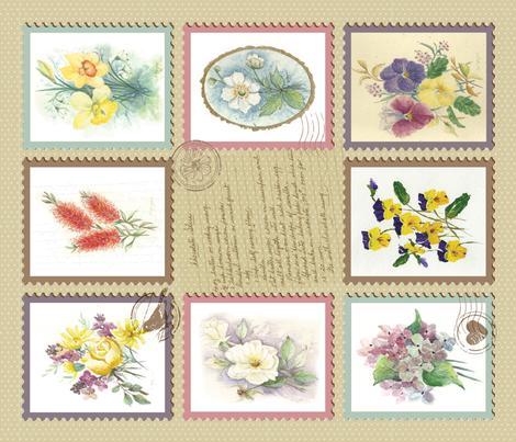 Nannas Teatowel fabric by olivia_henry on Spoonflower - custom fabric