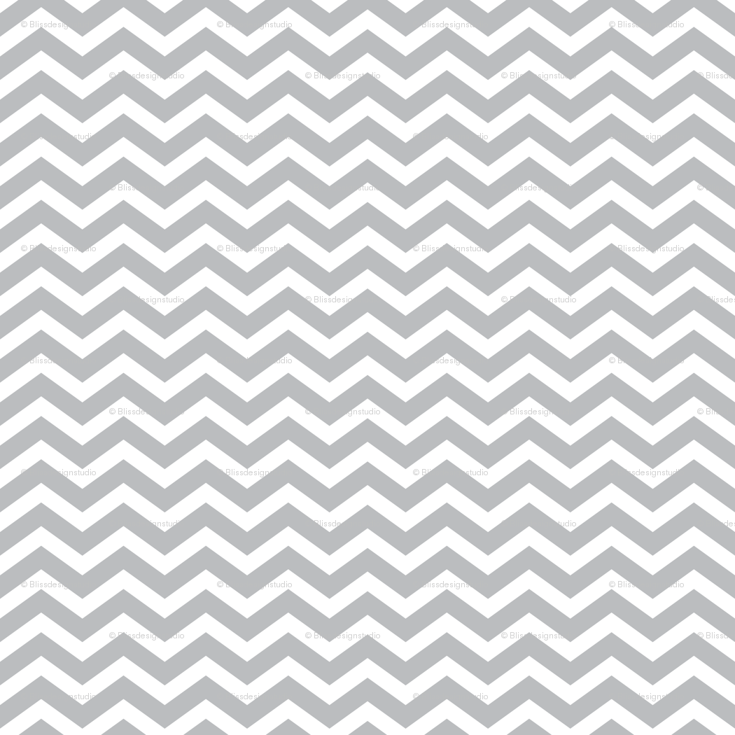- Light Gray Chevron Wallpaper - Blissdesignstudio - Spoonflower
