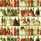 Historic Costume Green
