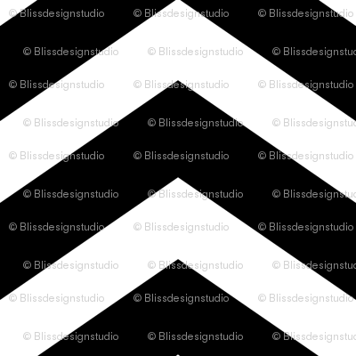 large black chevron