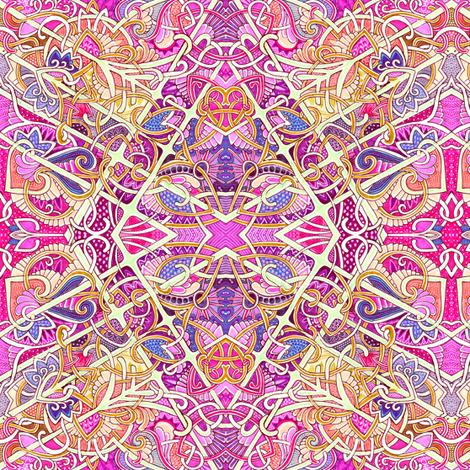 Big Bad Busy Diamond fabric by edsel2084 on Spoonflower - custom fabric