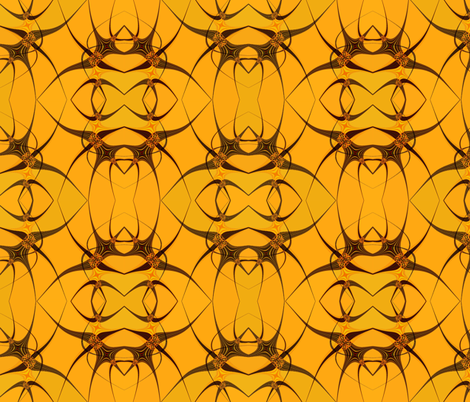 Parachuting Spiders fabric by anniedeb on Spoonflower - custom fabric