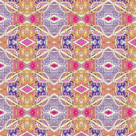 Moorish Diamond  fabric by edsel2084 on Spoonflower - custom fabric