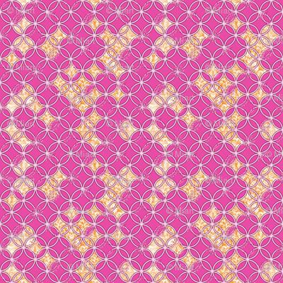 Distressed Circles Pink
