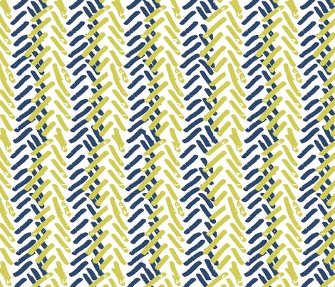 matisse inspired fish bone fabric by katarina on Spoonflower - custom fabric